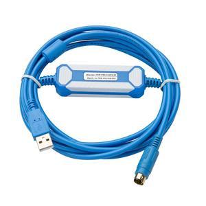 Image 2 - USB FBS 232P0 9F מתאים Fatek FBS FB1Z B1 סדרת PLC זהב מצופה ממשק תכנות כבל USB גרסה כדי RS232 מתאם