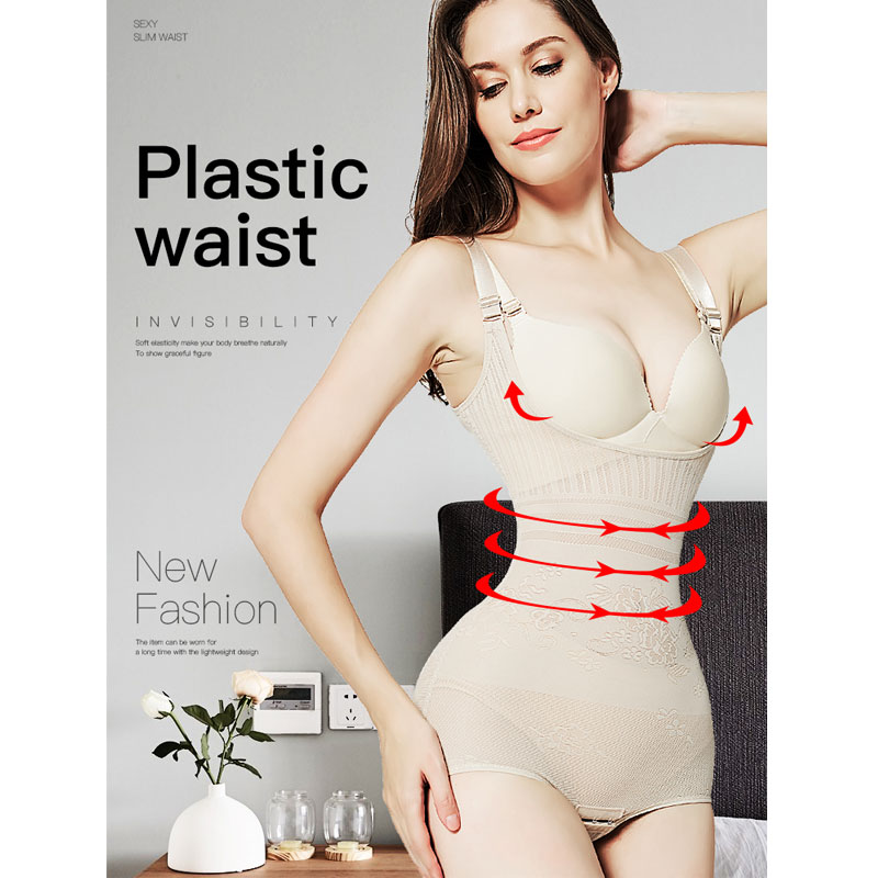 Waist Trainer Butt Lifter Binder Tummy Body Shaper Modeling Strap Slimming Shapewear Butt Lifter Reductive Strip Woman
