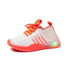 Buy Boys Girls New Luminous Shoes Toddler Boy Shoes Sport Running kids sneakers Flashing Lights Fashion Toddler Sneakers Light Shoes directly from merchant!
