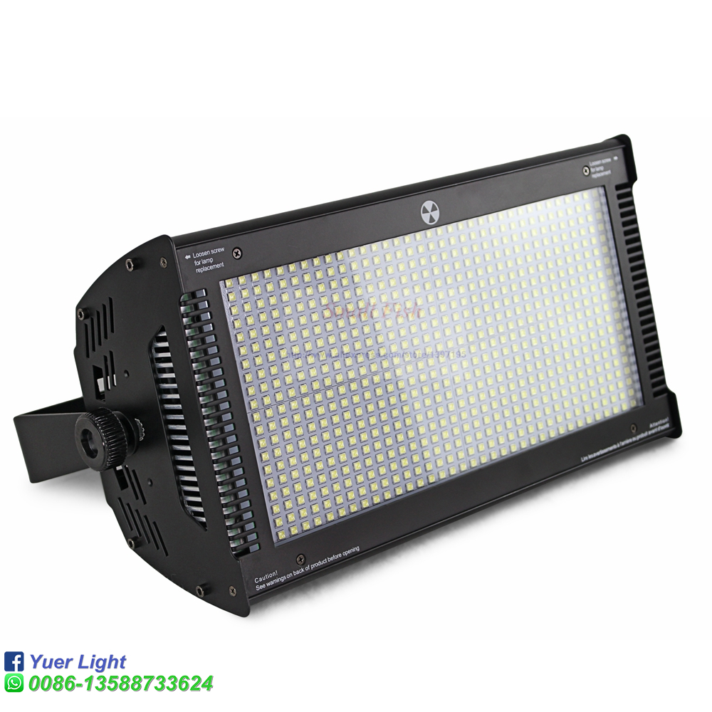 High power 800W led rgbw strobe light with dmx512 led wash stage lighting for ktv bar disco aluminum housing 3 pin XLR connect - 3