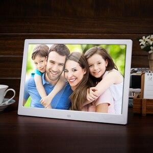 15 дюймов светодиодная подсветка HD 1280*800 полнофункциональная цифровая фоторамка электронный альбом цифровое фото музыкальное видео