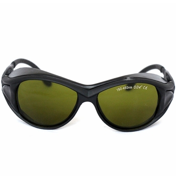 EP-7-2 190-460nm 450nm safety goggles OD4+ wide spectrum continuous absorption laser protective glasses