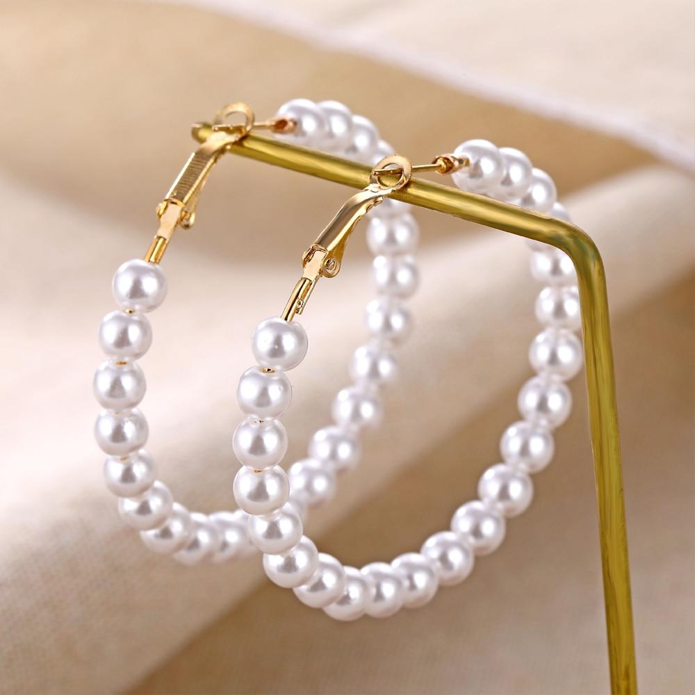 IPARAM, новинка, большие круглые серьги-кольца для женщин, модные, массивные, золотой, в стиле панк, очаровательные серьги, вечерние ювелирные изделия - Окраска металла: IPA0142
