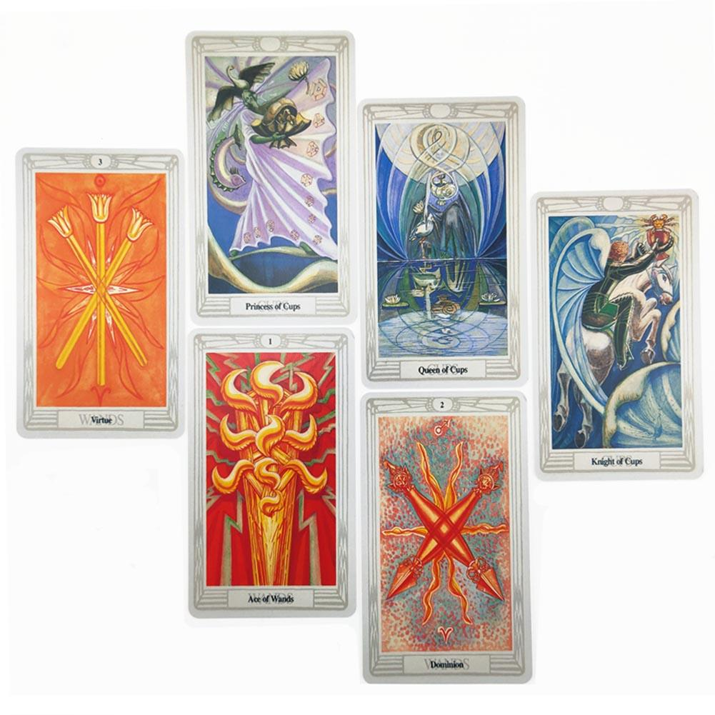 For Family Gift Party Playing Card Game Entertainment Tarot Cards Oracle Guidance Divination Fate Tarot Deck Board Games English