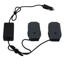 2 в 1 Автомобильное зарядное устройство для DJI Mavic Pro Platinum камера беспилотный аккумулятор портативное умное зарядное устройство для транспортного средства двойной выход зарядка