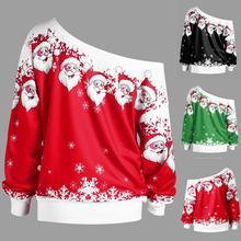 Женский джемпер, Рождественский свитер, пуловер, верхняя одежда, зимнее пальто со снежинками, с открытыми плечами, теплые короткие свитера, одежда, свитер