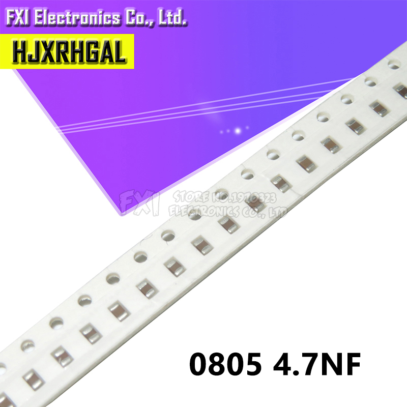 300pcs//lot 470NF Error 10/% 50V 474 470nf 0603 SMD Thick Film Chip Multilayer Ceramic Capacitor