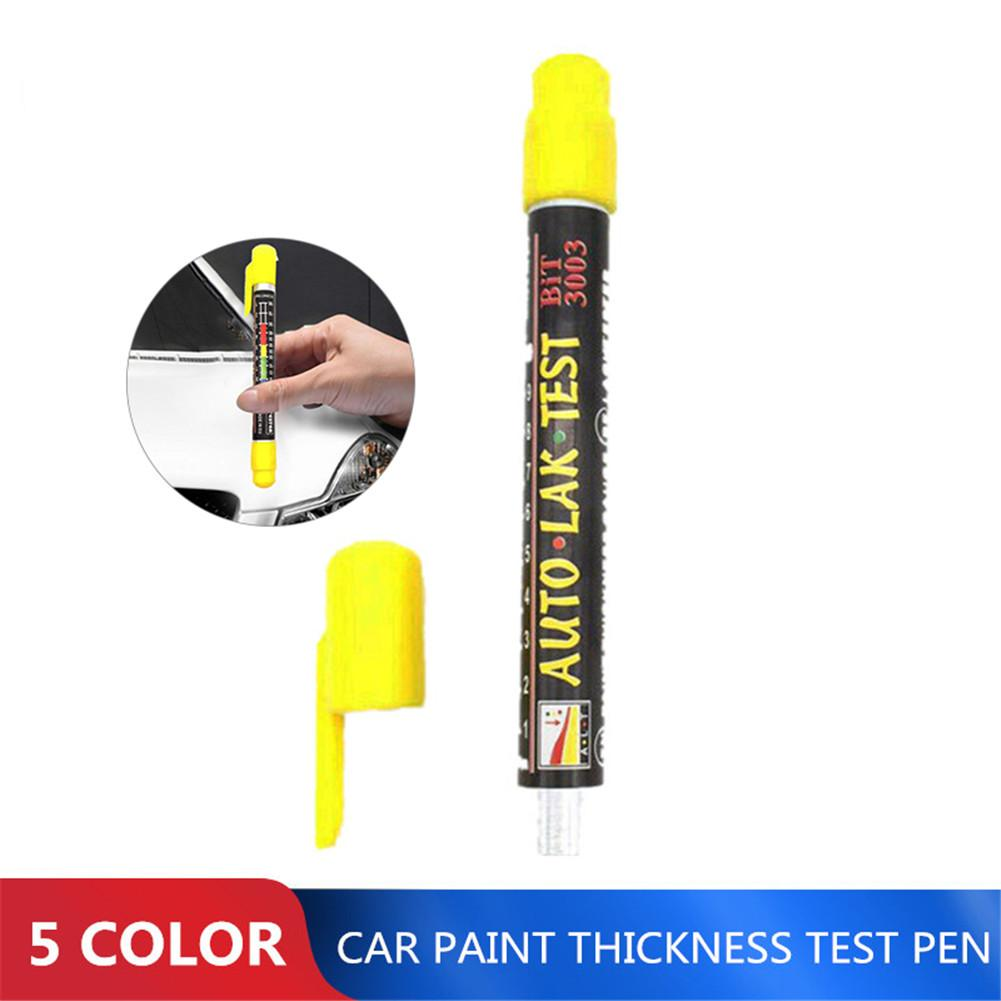 1 3 5 Pcs Auto Paint Test Car Paint Thickness Tester Meter Gauge Crash Check Test Paint Tester With Magnetic Tip Scale