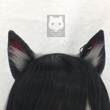 MMGG новый костюм для косплея Arknights Texas II, аксессуары для собак, ушей волка, головной убор, обруч для волос для девочек и женщин