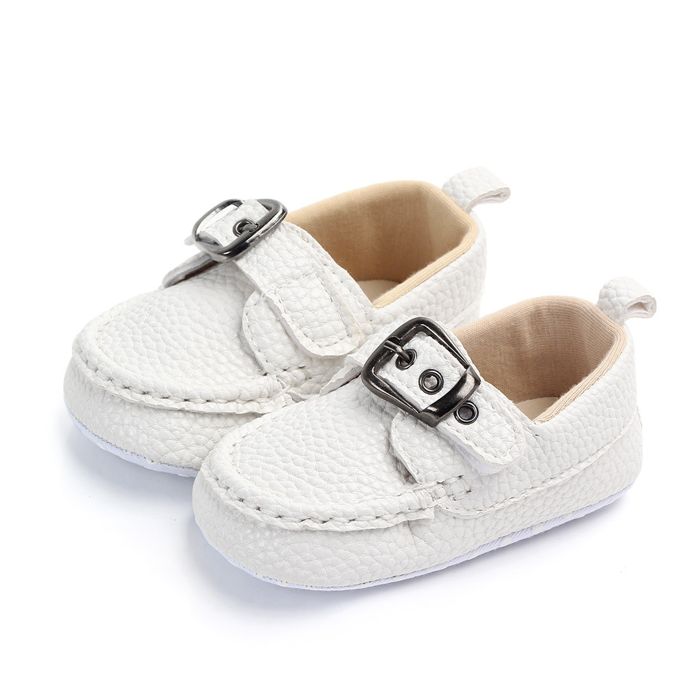 0-18M Baby Boy Shoes Fashion Baby Leather Shoes Newborn Infant Shoes For Baby Toddler Baby Shoes Boys Baby Moccasins