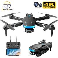 2021 nuovo Ls-878 Mini Drone 4k videocamera Hd droni professionali Wifi Fpv altezza fissa Rc Quadcopter elicottero pieghevole giocattolo per bambini regalo