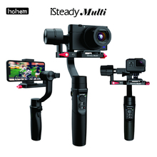 Hohem iSteady Multi Gimbal All-in-one 3-Axis Handheld Stabilizer for Sony Compact Camera RX100 Series/ Action Camera/ Smartphone original soocoo ps2 1 axis adjustable gryo stabiliser compatible with all sprots action camera and smart phone
