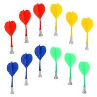12 unids/set de dardos magnéticos duraderos, juego interior, dardos de repuesto de seguridad