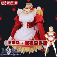 Fate Grand Order Saber Nero Maid New Product Uniforms Cosplay Costume Free Shipping
