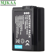 MJKAA NP-FW50 7.4V 1500mAh NPFW50 NP FW50 Replacement Battery for Sony Alpha 7 A7 7R A7R 7S A7S A3000 A5000 A6000 NEX-5N 5C A55 meike wireless control battery grip for sony a7 a7r a7s as vg c1em 2 np fw50 battery battery charger