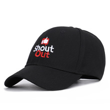 Spring Summer 2019 New Letter shout out Baseball Cap Foreign Trade Thumb Explosive Couple Sunshade