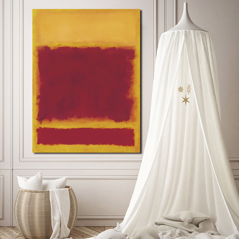 Marker Rothkoes Composition Wall Art Canvas Posters Prints Painting Oil Wall Pictures For Modern Living Room Home Decor Artwork