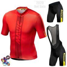 Abbigliamento-Maillot de Ciclismo para Hombre, Mavic 2020, Ropa de Ciclismo de montaña, Verano
