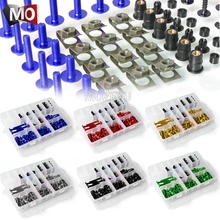 Honda için STX1300 TRANSALP 600 700 650 Valkyrie XL1000 XL125V V1 3 Varadero/ABS motosiklet vücut Fairing cıvata vidaları