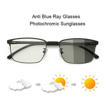 Photochromic Sunglasses Men Women Chameleon Glasses Male Retro Vintage Eyewear A