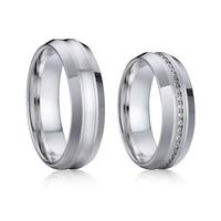 luxury love ladies crystal zircon wedding band big rings for women jewellery Alliances couple promise ring men