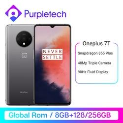 Global rom oneplus 7 t snapdragon 855 plus 6.55 amamtela amoled 90 hz display fluido 48mp triplo câmeras ufs 3.0 nfc smartphone Promo Code