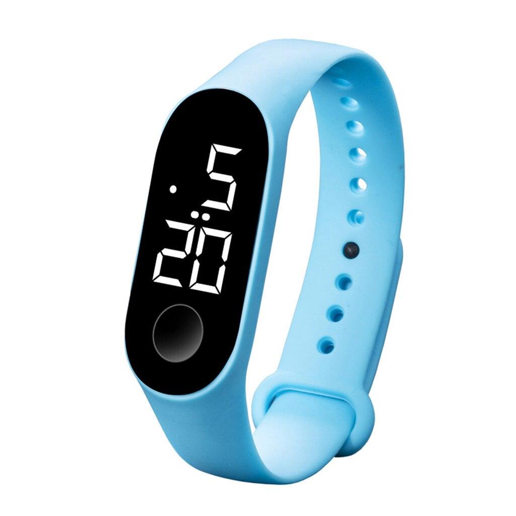 Hf85862ea5ac64c088a1d8488dce532abE LED Electronic Sports Luminous Sensor Watches Fashion Men and Women Watches Dress Watch  fashion Waterproof Men's digital Watch