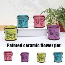 Cerâmica planta pote jardim decoração acessórios vasos de flores para interior ao ar livre decoração do jardim decoração para quintal e jardim