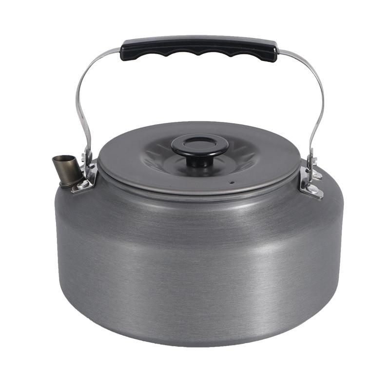 Pot Water-Bottle Field Outdoor Camping Kettle-Set Teapot Coffee-Pot Ultralight Aluminum-Alloy