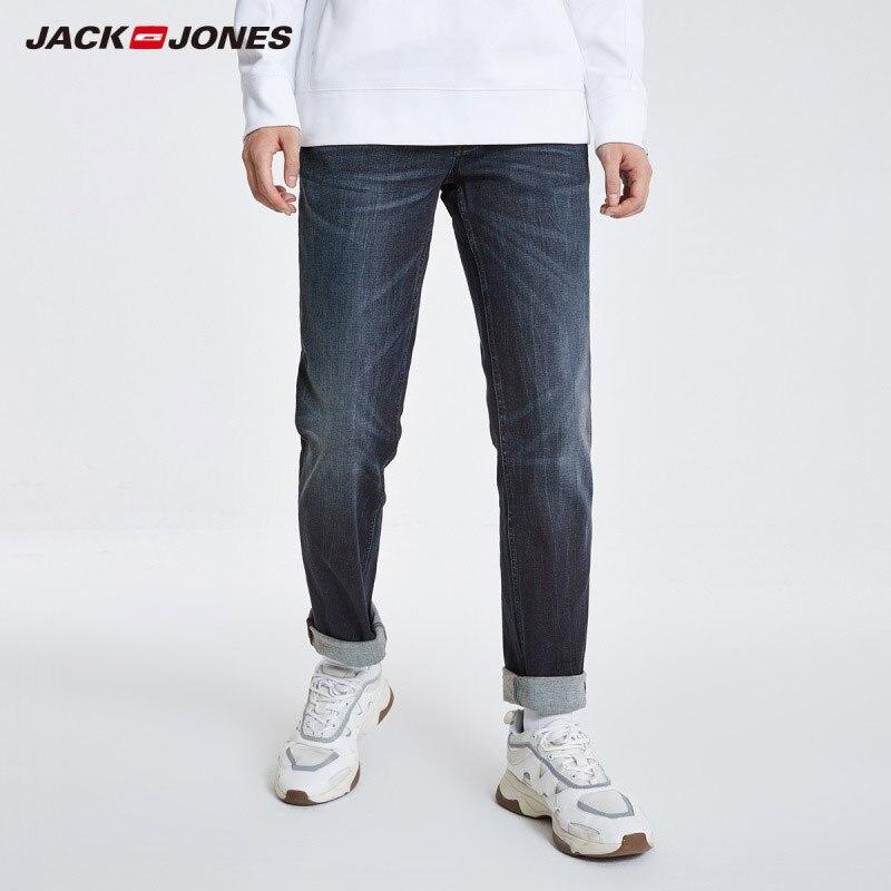 JackJones Men's Casual Stretch Cotton Straight Fit Jeans Basic Menswear 219132566