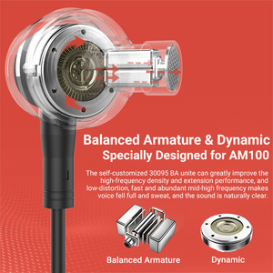 Image 2 - Langsdom auriculares Hifi híbridos con armadura de equilibrio, auriculares Hifi dinámicos de 1BA + 1DD para teléfono móvil