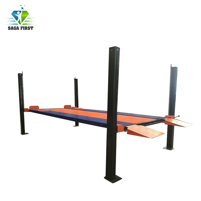 Hydraulic Electric Two Post Parking Lift Machine