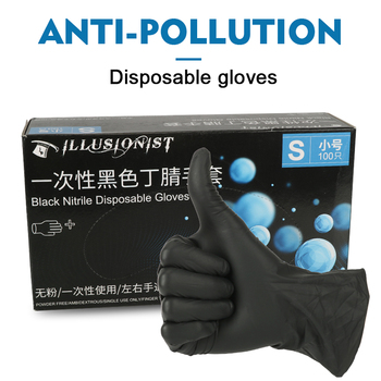 Disposable Gloves Nitrile Anti-Pollution Tattoo/Dishwashing/Kitchen/Work/Garden Gloves Universal For Left And Right Hand