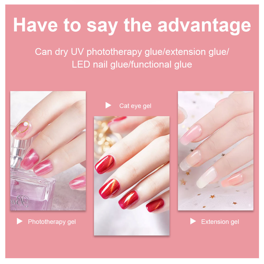 Nail Dryer UV LED Lamp- Protects Hands