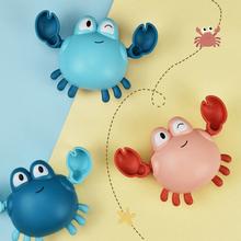 Cartoon Baby Bath Toys For Kids Crab Tortoise Girls Boys Clockwork Swimming Water Toys Children Toddler Pool Beach Toys cheap schnappy CN(Origin) Plastic QU730z keep away from fire Clockwork Dabbling Toy Unisex 0-12 Months 13-24 Months 2-4 Years