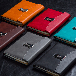 Image 2 - A5 с замком, ретро записная книжка с паролем, креативные школьные офисные принадлежности, канцелярские принадлежности, личный дневник, этот дневник, книга планер