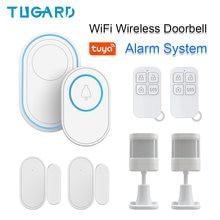 Tugard wifi беспроводной дверной звонок домашняя охранная сигнализация