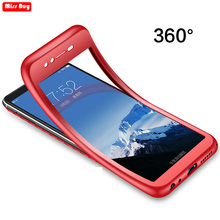 360 Degree Full Body Phone Cases For Huawei Honor 6A Case DLI-TL20 Funda Silicone Cover 5.0 for Honor6A