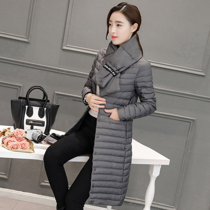 2020  Young Style Woman Winter Solid Woman Cotton Coat 1052