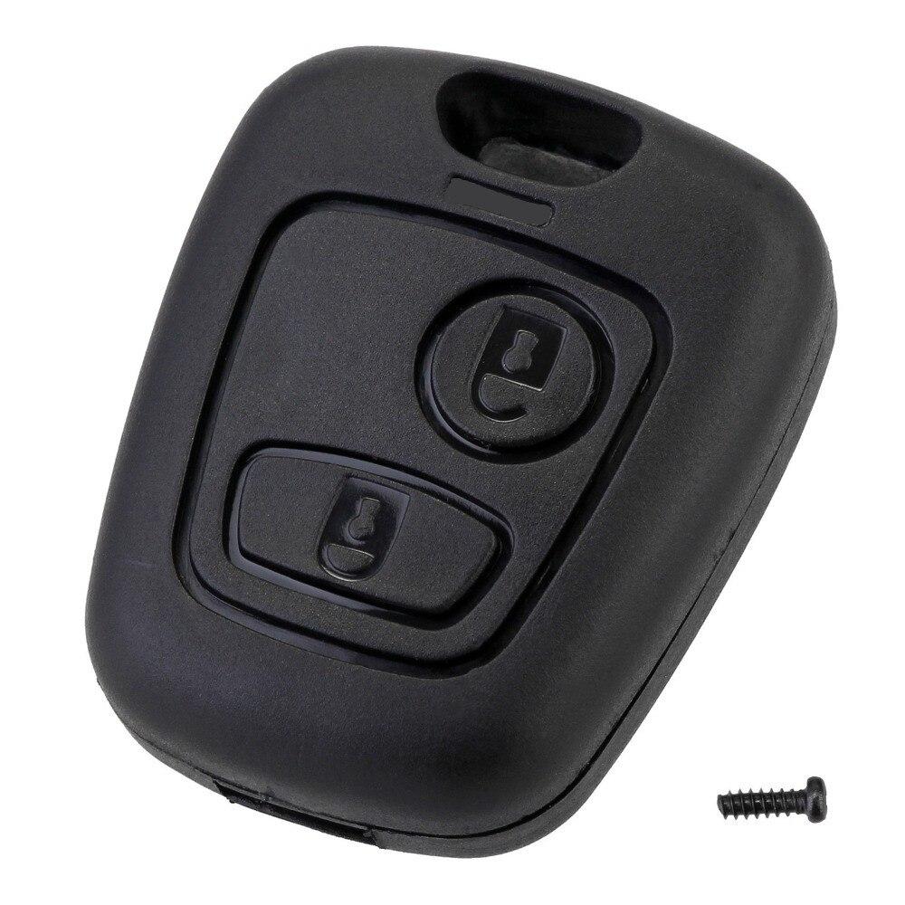 2 кнопки дистанционного ключа автомобиля брелок чехол Замена Крышка чехла для Citroen C1 C2 C3 C4 XSARA Picasso для Peugeot 307 107 207 407|Ключ от авто|   | АлиЭкспресс