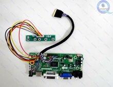 E qstore: geri dönüşüm LCD N173O6 L02 N17306 L02 1600X900 ekran denetleyici kurulu Led sürücü dönüştürücü monitör kiti HDMI uyumlu VGA