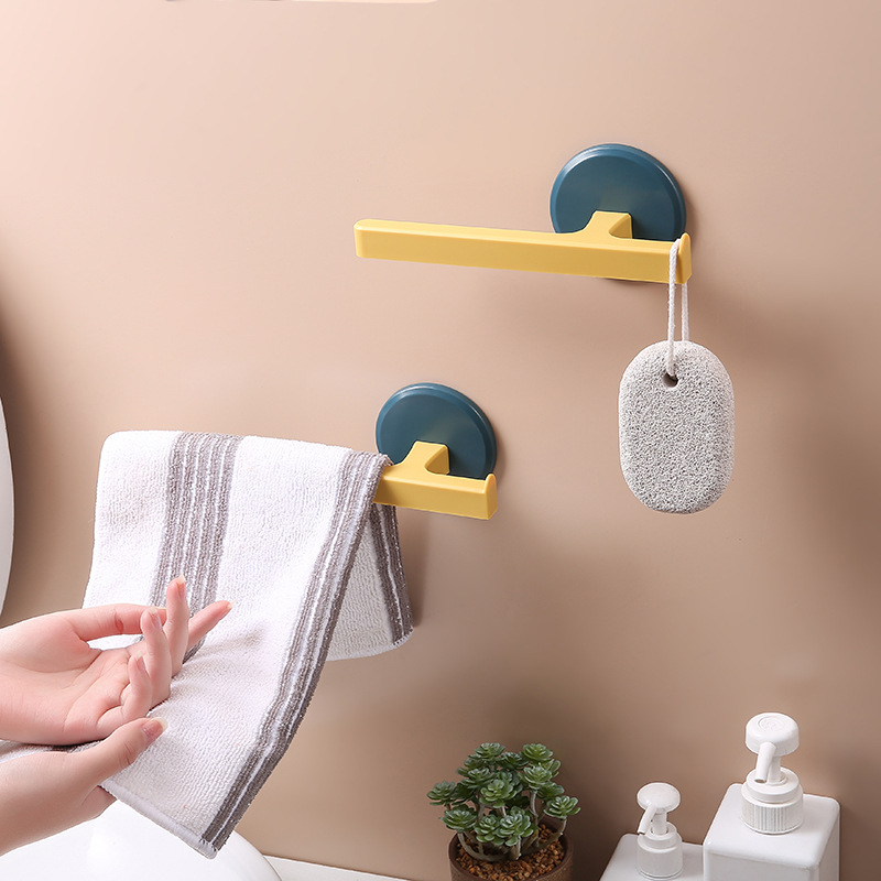 Towel Rack Bathroom Organizer For Used As Loofah And Scrubbing Stone Hanger