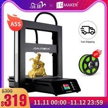 JGMAKER JGAURORA A5S FDM 3D Printer Easy Assembly 32Bit Motherboard Large Build volum 305*305*320mm Resume Printing Power Off