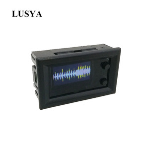 Image 1 - Lusya NEW MINI 0.96 Inch OLED Spectrum Display Analyzer dual channel Color music spectrum display module G4 003