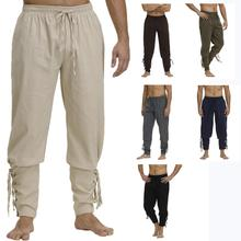 Pirate pants for men Viking cosplay Renaissance medieval gothic pirate costume Trouser