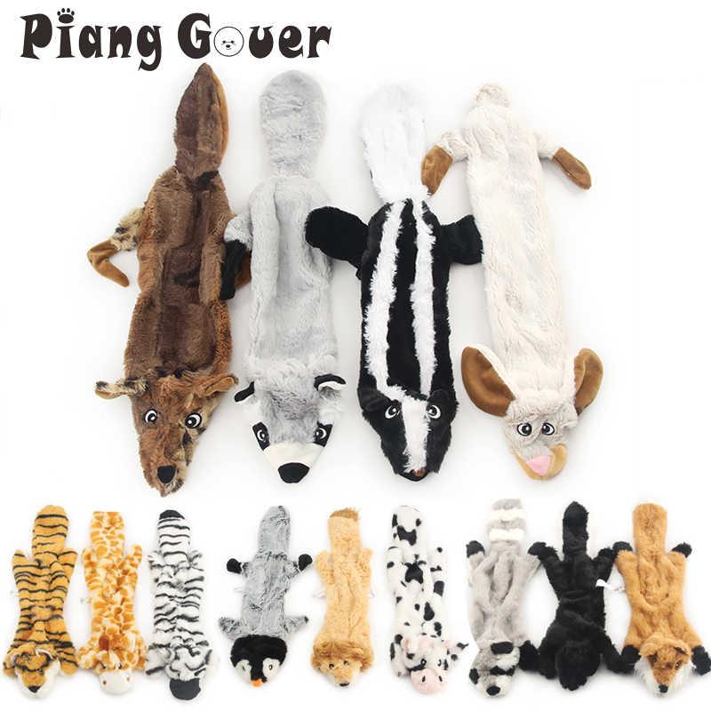 لينة أفخم الحيوانات الأليفة لعبة لطيف أفخم زيبرا صار اللعب النمر الصوت دمية على شكل كلب