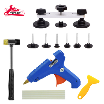 PDR Tools Paintless Dent Repair Tools Removal Dent Puller Dent Lifter Hand Tool Set PDR Tool kit цена 2017