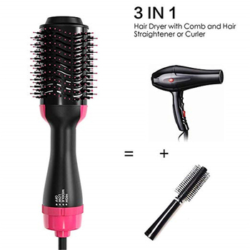 One Step Hair Dryer And Volumizer Blower Professional 2-in-1 Hair Dryers Hot Air Brush Blow Hairbrush Styling Tools Styler