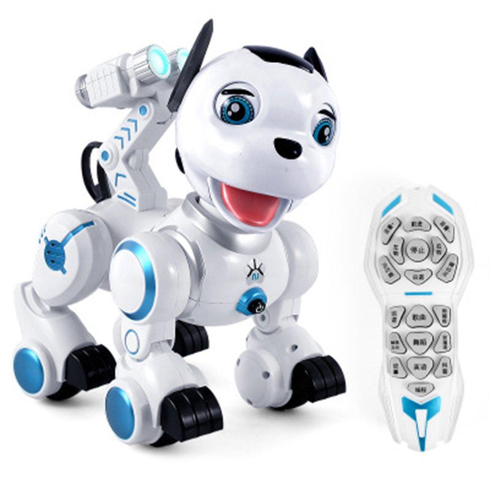 Intelligent Remote Control Robot Dog Interaction Walking Dance Toys Programmable Touch-sense Robot Electronic Pet W/ Light Sound