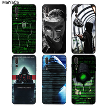 MaiYaCa Matrix Hacker Case For Huawei P4